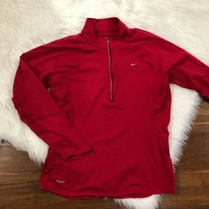 Nike Boys 1/4 Pullover Jacket